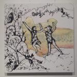 painting 2 figures dancing