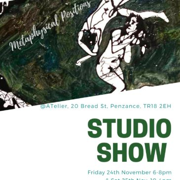 Studio Show @ 20 Bread St, Penzance, TR18 2EH