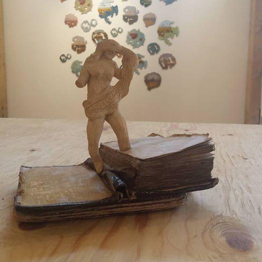 Sculpture at Tremenheere show