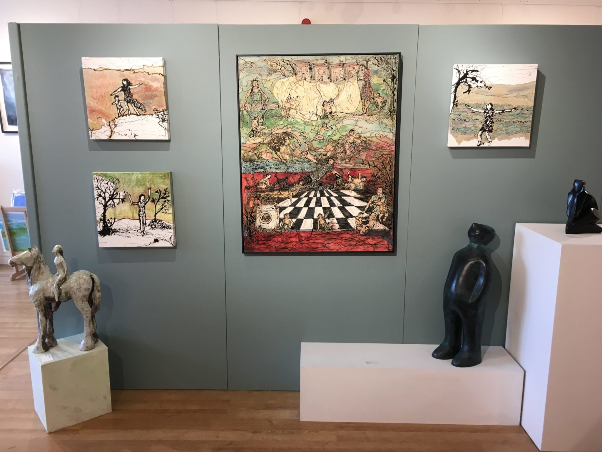 Paintings at Clifton Fine Art