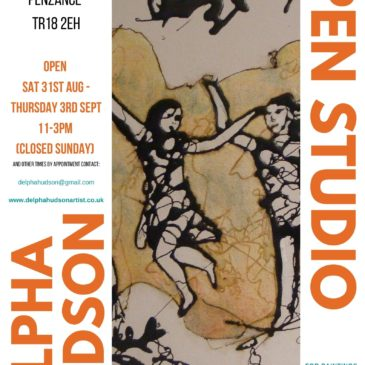 Open Studio – come and see new painting