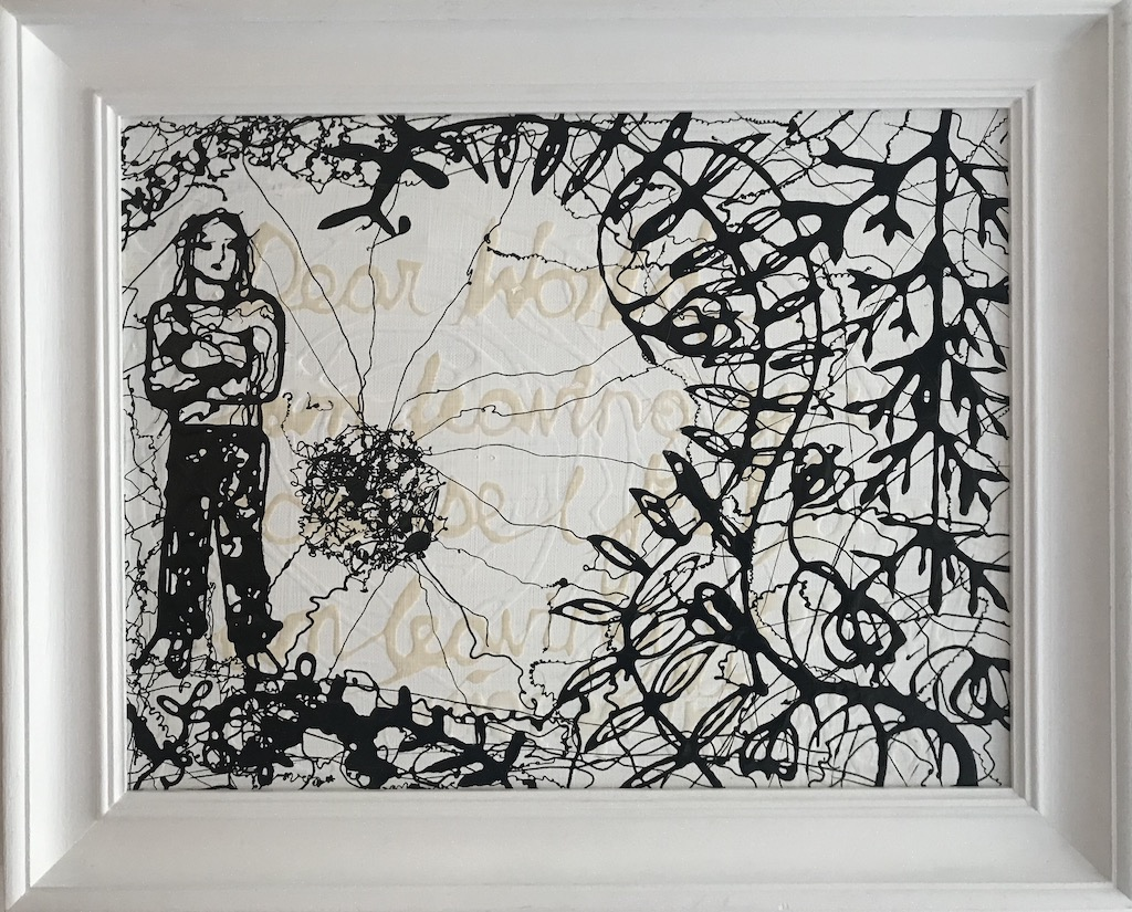 example of monochrome painting for sale