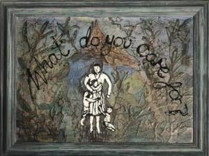 What do you care for? 2020 framed, 68x48cm, £1100