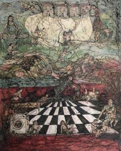 Imposing Order on Chaos, 2018, 80x100cm, £2000