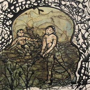 Metonym of the Moment,  25x25cm, unframed £300, framed £450