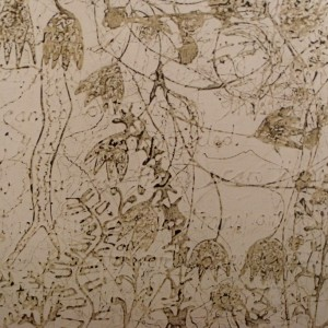 Ecriture Corporel, 150x100cm on board, £2500